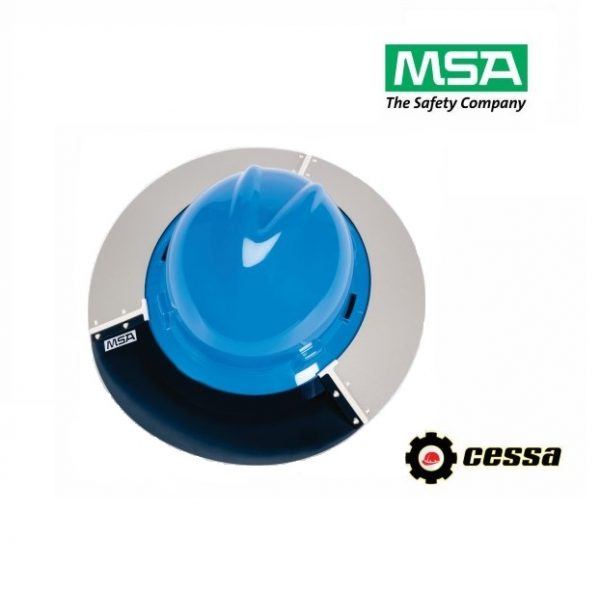 Protector solar de poliuterano para casco V-GARD MSA ala ancha