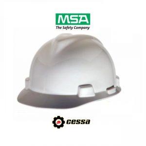 Casco MSA V-GARD tipo cachucha blanco