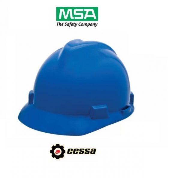 Casco MSA V-GARD tipo cachucha azul