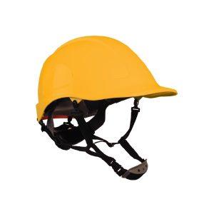 Casco Assembler Amarillo con Suspensión Textil Dielectrico