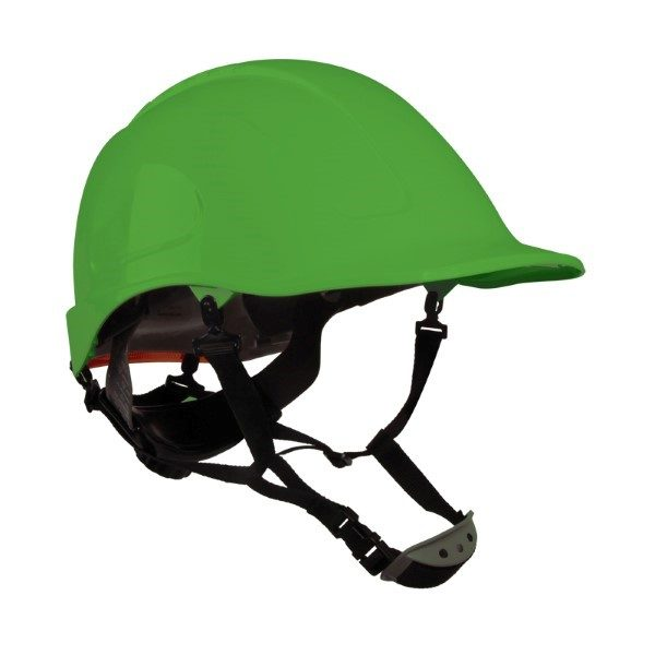 Casco Assembler Verde con Suspensión Textil Dielectrico