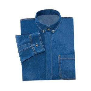 Camisola para caballero de mezclilla 8oz - CessaComercializadora.com