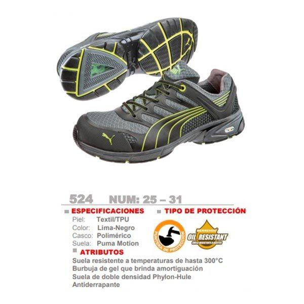 Puma Safety 524 - CessaComercializadora.com
