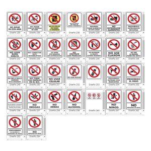 Señalamientos de Prohibición - CessaComercializadora.com