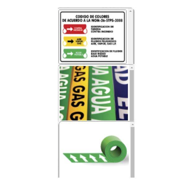Señalamientos para Tuberías - CessaComercializadora.com