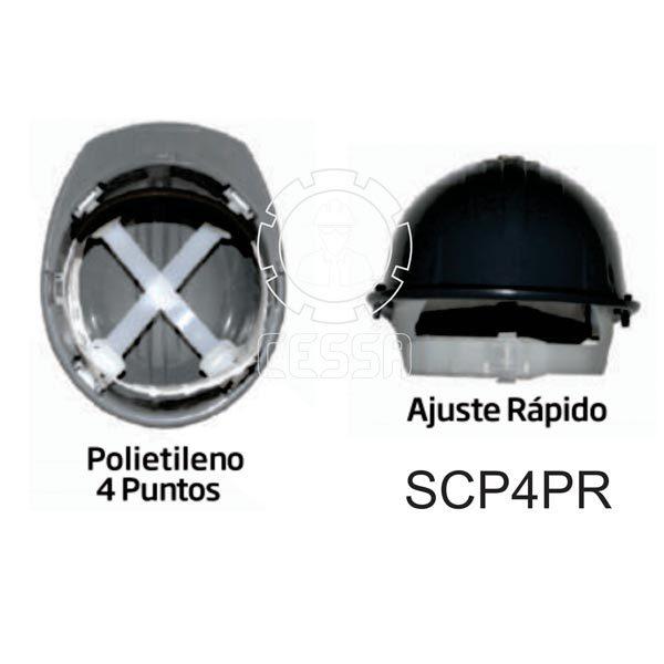 Suspensión para casco SCP4PR ByLack - CessaComercializadora.com