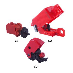 Bloqueo de eje para interruptor magnetotérmico C1 C2 C3 - IFAM - Cessa Comercializadora