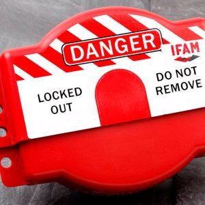 Bloqueo para válvulas circulares Modelo 090410 - IFAM - Cessa Comercializadora
