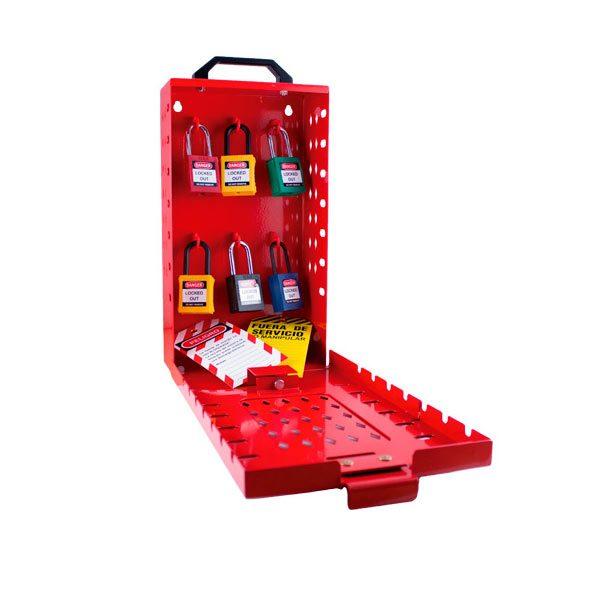 Caja de bloqueo 14 candados - LOTO - IFAM - Cessa Comercializadora