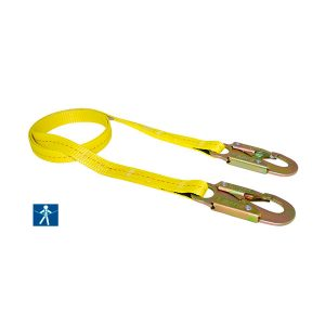 LR300 Cable de seguridad banda plana Golden Eagle