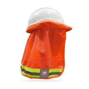 Cubrenuca para Casco - MR seguridad - SR1040-NJ - Alta Visibilidad Anaranjado
