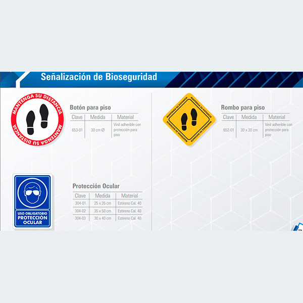 Señalamientos de bioseguridad - cessacomercializadora.com
