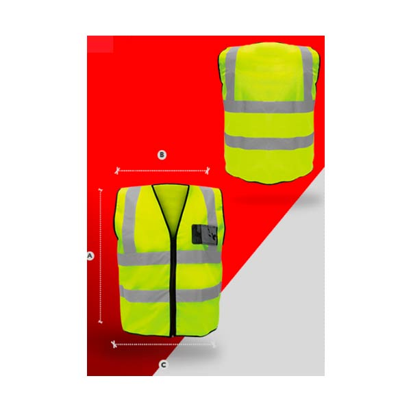 SR1060-AM Chaleco super LX amarillo - Cessa Comercializadora