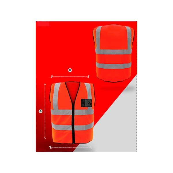 SR1060-NJ Chaleco super LX naranja - Cessa Comercializadora