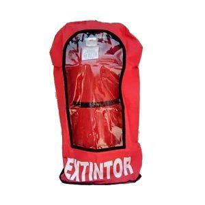 Funda para extintor en color rojo - Cessa Comercializadora