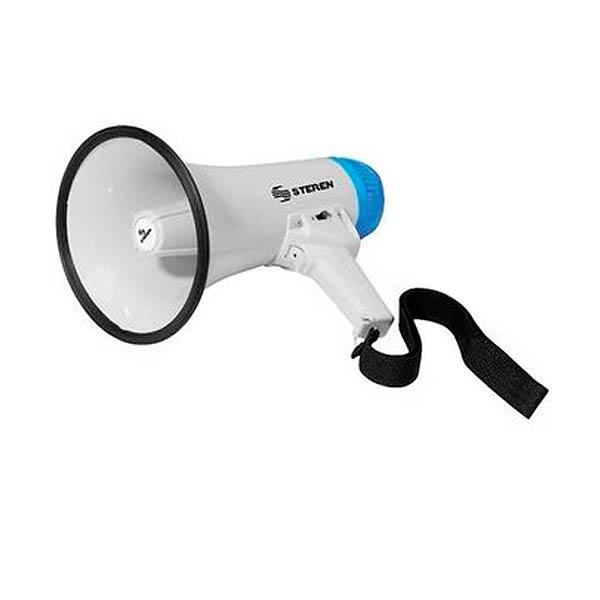 Megáfono de 25 W con grabador de voz y batería recargable - Cessa Comercializadora