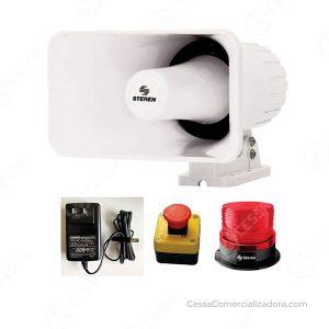 Kit alarma de emergencia Steren KIT-EME-12V - CessaComercializadora.com
